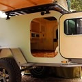 Moby1 Expedition Trailer. Photo courtesy of Moby1.- The Best Camper Vans + Trailers