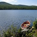 """Mountain Pond.- 6 """"Off-the-Beaten-Path"""" Hiking Trails in the White Mountain National Forest"""