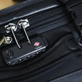 It comes with two TSA-compliant locks that can be set to your choice of combination.- Gear Review: Mountainsmith Boarding Pass FX