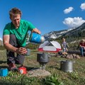 Group camping with the MSR WindBurner Stove System.- Why Does My Fuel Canister Turn Cold When I Run My Stove?