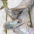 Surviving the mud fest in La Sportiva's Akasha shoes.- Gear Review: La Sportiva Women's Akasha Shoe