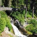 Narada Falls.- Wednesday's Word - Nisqually
