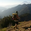 A view of Mount Rainier from Goat Rocks Wilderness, Washington.- Only The Essential: The Adventure Behind the Lens
