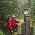 Colin Arisman at the Canadian Border after five months and 2,668 miles on trail.- Only The Essential: The Adventure Behind the Lens