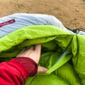 There's even a neck pocket inside for a pillow!- Gear Review: NEMO Jam 15 Women's Sleeping Bag