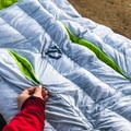 The stand-out feature of NEMO's Jam 15 were the vertical vents along the bag's front to shed heat.- Gear Review: 4 Best Women's Sleeping Bags of 2018