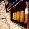 It's wonderful to spin prayer wheels, just be sure you do it the correct direction: clockwise. - Rethinking Leave No Trace: Increasing Your Cultural Awareness