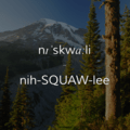 Nisqually River.- Wednesday's Word - Nisqually