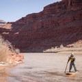Because the board packs up so well, it ends up going places regular boards just won't, like the San Juan River.- Gear Review: NRS Big Earl Stand-up Paddleboard