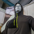 NW Alpine Black Spider Hoodie ready for action.- NW Alpine is doing it right, and we're digging it