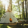 Tipi Village Retreat, Oregon (http://hipca.mp/2uukd64). Photo by Octave Zangs.- It's Not Too Late to Plan an Eclipse Camping Trip