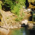 Ohanapecosh River and the Blue Hole Swimming Area.- Wednesday's Word - Ohanapecosh
