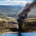 Photo courtesy of Columbia Riverkeeper.- Let's hope that more than just an oil train derailed in Mosier