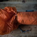 Beginning to remove the bothy.- Gear Review: Rab Superlite Shelter 4