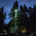 Night ascent into the million-star accommodations at Opal Creek.- Asleep in the Arms of Ancients