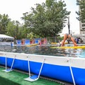 Paddleboard and kayak demos went on daily in the outdoor demo pool.- Outdoor Retailer Summer Market 2016 Recap