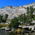 Vogelsang Peak on the Tuolumne Meadow portion of the John Muir Trail (JMT).- Wednesday's Word - Tuolumne