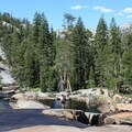 Water along the trail, Tuolumne Meadows to Yosemite Valley.- 3 Must-do Backpacking Trips in the Sierra