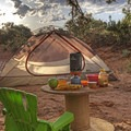 You don't need much to be happy here.- Bringing a Camping Ethic Back Home