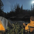 Take the time to enjoy the stillness.- Bringing a Camping Ethic Back Home