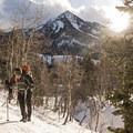 Reynolds Gulch, with Kessler Peak in the background.- Salt Lake City Inversion Survival Kit