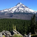 Mount Hood view from Owl Point.- 5 Lesser Known Hikes On and Around Mount Hood