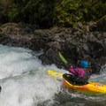 Nicole at the Northwest Creeking annual whitewater competition in Washington. - Sheroes in the Outdoors