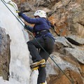 Mountain Mama Mad Rock harness in action.- Mountain Mama Climbing Harness by Mad Rock