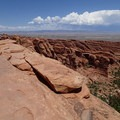 View of the Fin along Devils Garden Trail.- 5 Must-do Hikes in Arches National Park