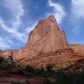 View starting from a trailhead.- 5 Must-do Hikes in Arches National Park