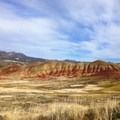A brush-stroked landscape out at the Painted Hills in Oregon.- Woman In The Wild: Tara Sou