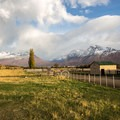 Estancia Nibepo Aike sits at on the shore of Lake Agentina at the base of the Andes.- 25 Photos That Will Make You Want to Adventure in Patagonia