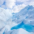 Visitors can trek on the ice and drink fresh water directly from the glacier.- 25 Photos That Will Make You Want to Adventure in Patagonia