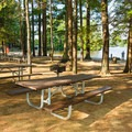Lakeside picnic area at Pawtuckaway State Park.- 10 Favorite State Parks in New Hampshire