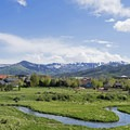 Kimball Junction in the summer, from near the Flying Dog Trail.- 5 Reasons You Have to Visit Park City, Utah in the Summer