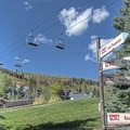 Trail marker near the Town Lift, so many choices!- 5 Reasons You Have to Visit Park City, Utah in the Summer