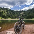 Desolation Lake.- Mountain Biking in Park City