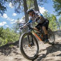 Don't go off the cliff, its right in front of you.- Top 5 Mountain Bike Trails in Golden, British Columbia