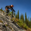 Steep Slabs for days.- Top 5 Mountain Bike Trails in Golden, British Columbia