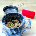 Ready to go! Photo by Laura Lancaster.- How to Start Making Your Own Homemade Backpacking Meals