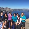 Crater Lake National Park (before the hike down Cleetwood Cove!).- Woman In The Wild: Mary Cecchini
