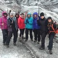 Glacier trekking with Living Big.- The Power of the Stretch