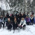 Snowshoeing on Mount Hood.- Woman In The Wild: Mary Cecchini