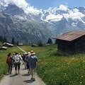 Post lunch hike in the Bernese Oberland region of Switzerland.- Woman In The Wild: Mary Cecchini