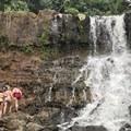 Climbing waterfalls in Kauai.- Woman In The Wild: Mary Cecchini