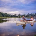 Canoeing on Piney Z Lake. Photo courtesy of Visit Tallahassee.- Destination Spotlight: Trails of Tallahassee