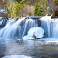 This is the long exposure image of a waterfall taken using the Platypod Max.- Gear Review: Platypod Camera Support Kit