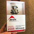 I love how minimalist the packaging is, and how they opted to not waste too much plastic or materials.- Gear Review: MSR PocketRocket 2