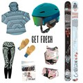 Powder Days gear package featuring Coalition Snow, Giro, and Flylow Gear!- A Month of Female Badassery