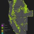 National Forests + Grasslands Map.- U.S. Forest Service